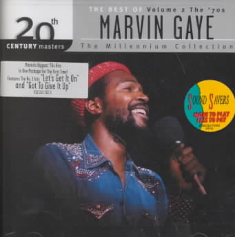 20TH CENTURY MASTERS:MILLENNIUM VOL 2 BY GAYE,MARVIN (CD)